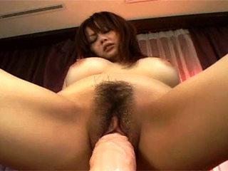 Rina Wakamiya Plumbs Her Pussy Pleasures